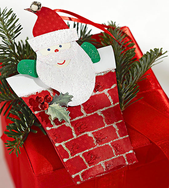 how to make santa claus with paper