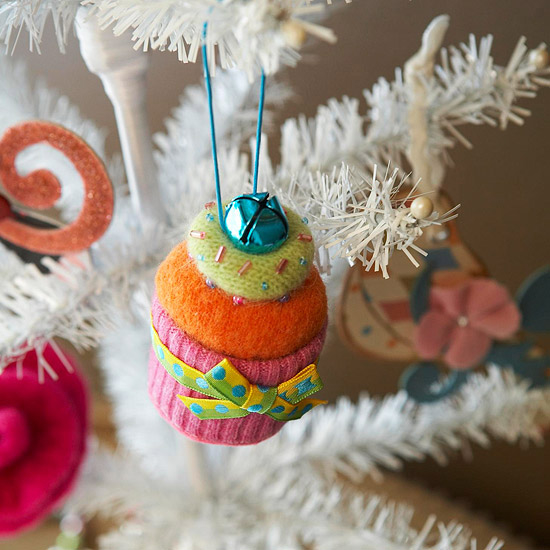 Cupcake Ornament From Felt Pictures, Photos, And Images