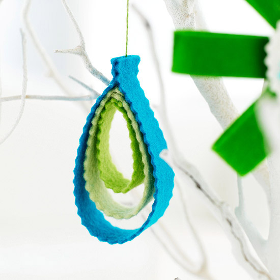 Felt Teardrop Christmas Ornament Pictures, Photos, and ...