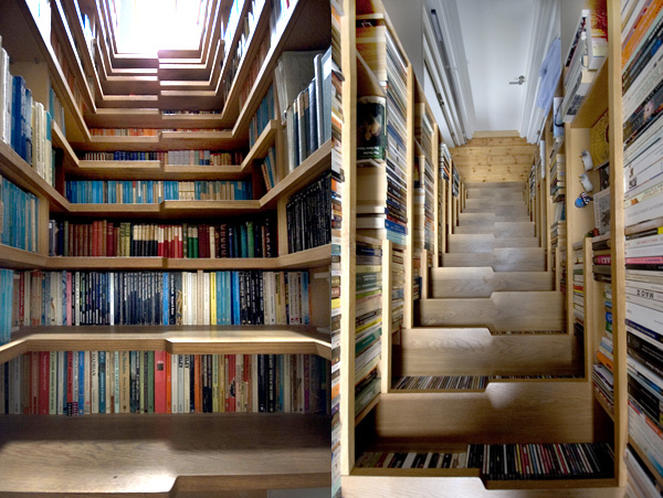 The Staircase Bookshelf Pictures, Photos, and Images for ...