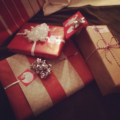 Wrapped Christmas Presents Pictures, Photos, And Images