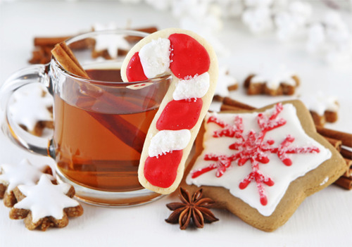Gingerbread Cookies And Tea Pictures Photos And Images For