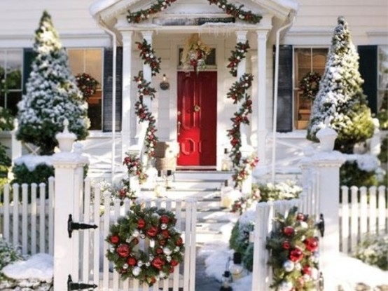 Winter Christmas House Decor Pictures Photos And Images For Facebook Tumblr Pinterest And Twitter
