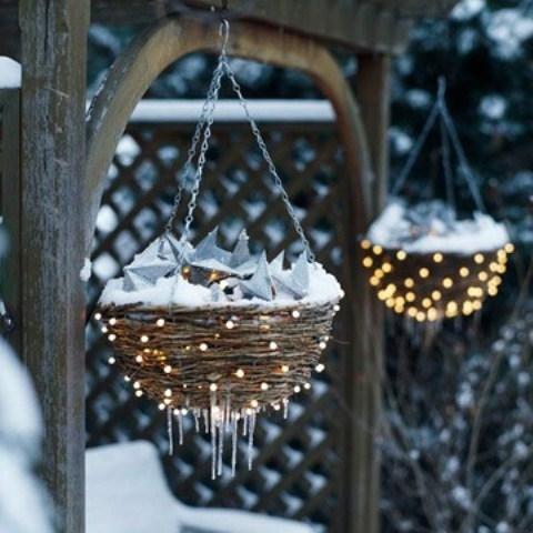 56193 Nest Winter Decor - Winter decor