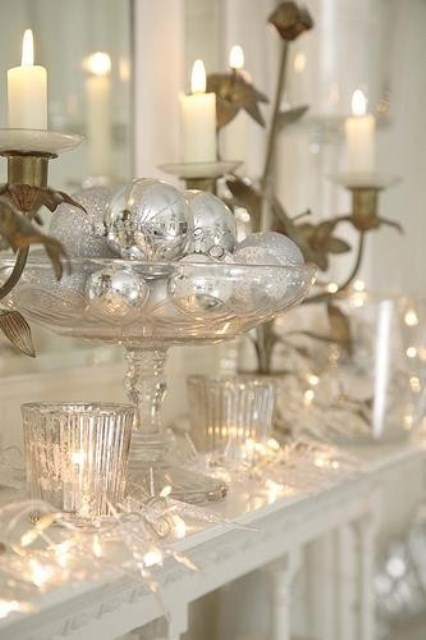 Vintage Christmas Mantel Decorations : Mantle ornaments pictures photos and images for facebook