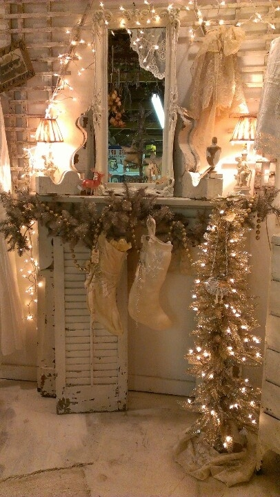Rustic christmas decor pictures photos and images for - Deco noel shabby chic ...