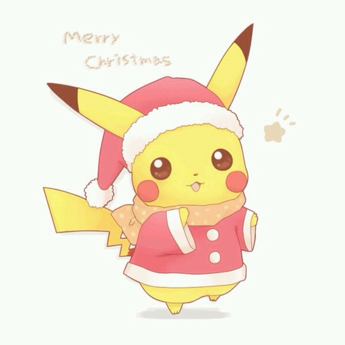 Merry Christmas Pikachu Pictures Photos and Images for