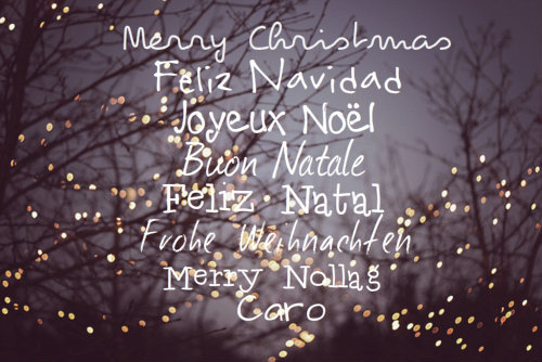Image result for merry christmas in different languages