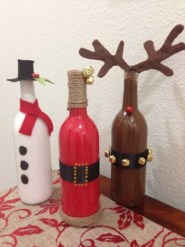 ===Ideas, trucos, manualidades...=== 56546-Christmas-Crafts-From-Old-Wine-Bottles