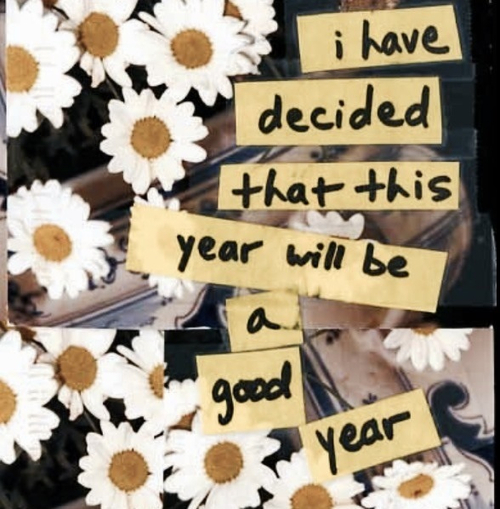 This year will be a good year