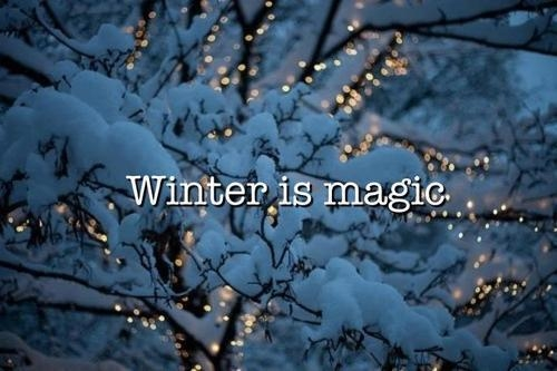 Winter Is Magic Pictures, Photos, and Images for Facebook, Tumblr, Pinterest,...