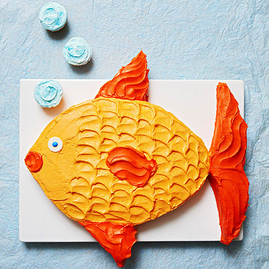 Tropical Fish Cake Pictures Photos And Images For
