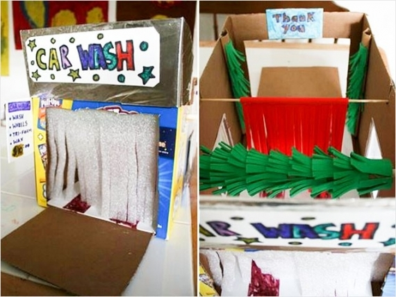 10 Ideas About Cardboard Box Cars On Pinterest: Toy Car Wash Pictures, Photos, And Images For Facebook