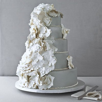 Pretty Platinum Wedding Cake Pictures Photos And Images