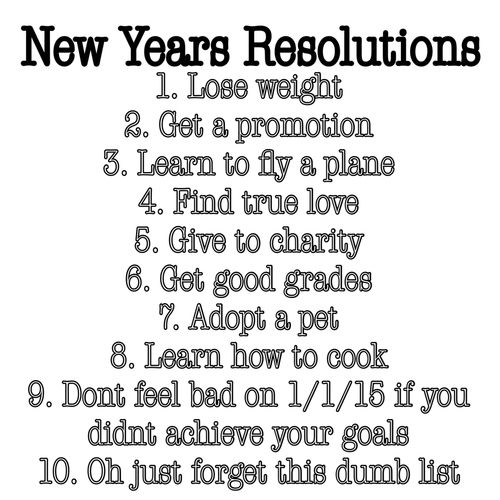 New Years Resolutions Pictures, Photos, and Images for Facebook ...