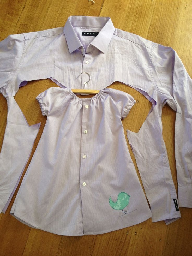 DIY Turn Old Shirt Into Girl Dress Pictures, Photos, and ...