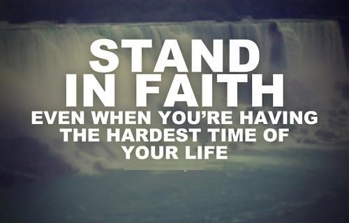 stand in faith pictures photos and images for facebook
