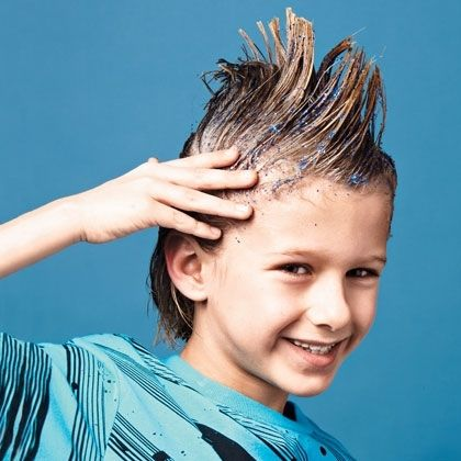 how to set hair without gel