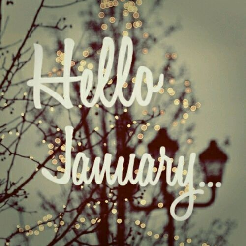 Desktop Wallpaper January 2014: Hello January Pictures, Photos, And Images For Facebook