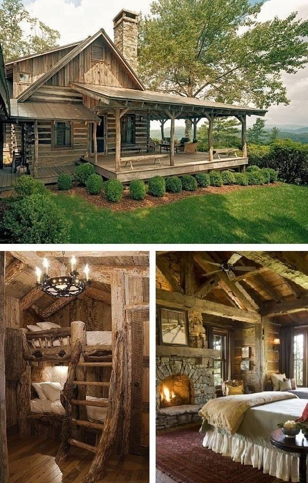 Country living pictures photos and images for facebook for Small rustic country homes