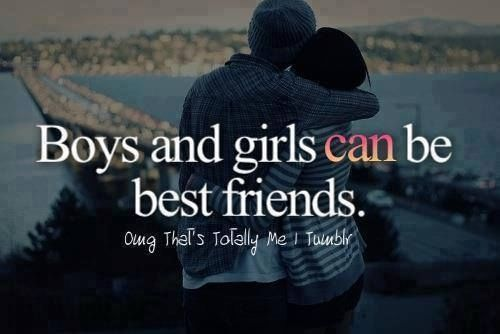 Boy Girl Best Friend Quotes Boys And Girls Can Be Best Friends Pictures, Photos, and Images  Boy Girl Best Friend Quotes