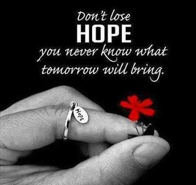 Nice Quote. Dont Lose Hope Pictures, Photos, And Images For Facebook, Tumblr,  Pinterest,