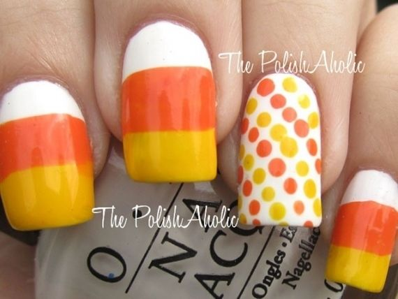 Candy Corn Nails Pictures Photos And Images For Facebook Tumblr