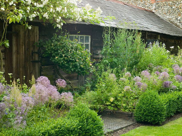Rustic garden habitat pictures photos and images for for Rustic garden designs