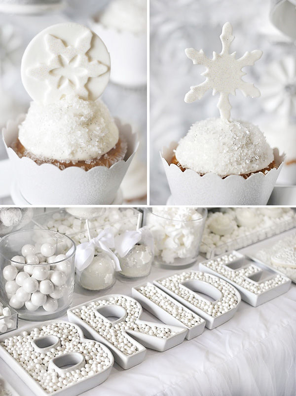 All White Bridal Shower Theme Pictures Photos and Images