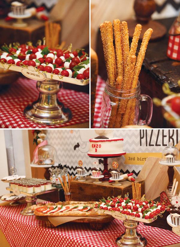 Pizza Birthday Party Pinterest Crafts
