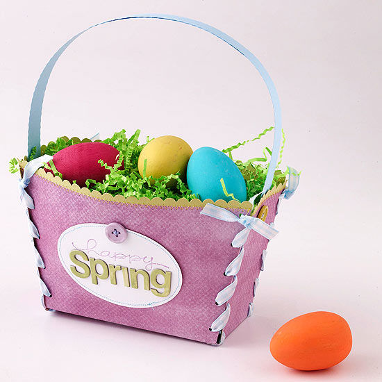Pretty paper easter basket pictures photos and images for pretty paper easter basket negle Choice Image