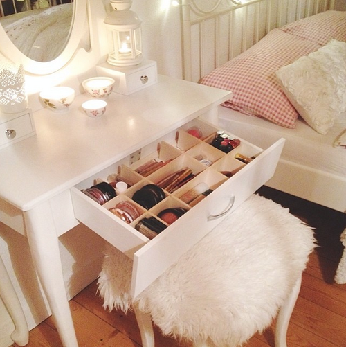 Makeup Vanity Drawer Pictures, Photos, and Images for Facebook, Tumblr, Pinterest, and Twitter