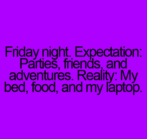 friday night: