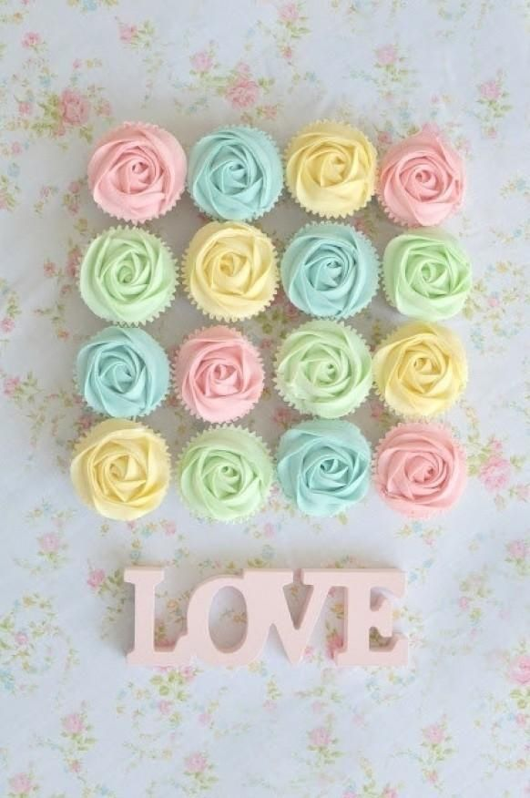 Pastel Love Cupcakes Pictures, Photos, and Images for ...