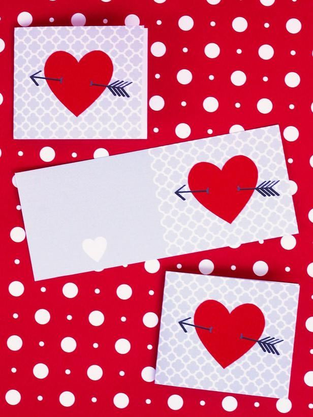 cupids arrow valentines day card - Valentines Day Cards Pinterest