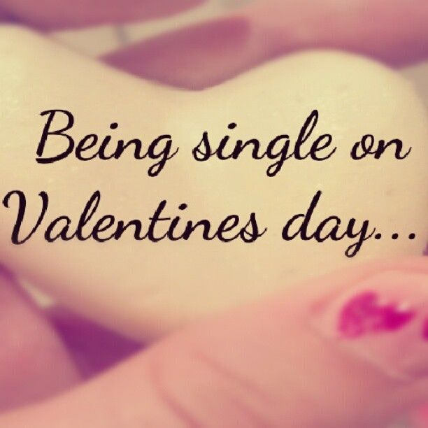 being single on valentines day