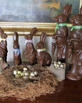 Chocolate Rabbit Display Pictures Photos And Images For