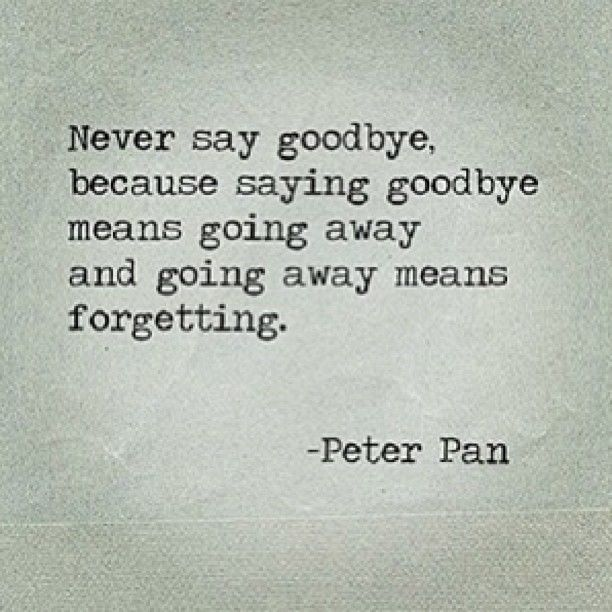 Friendship Quotes Never Say Goodbye : Never say good bye quotes quotesgram