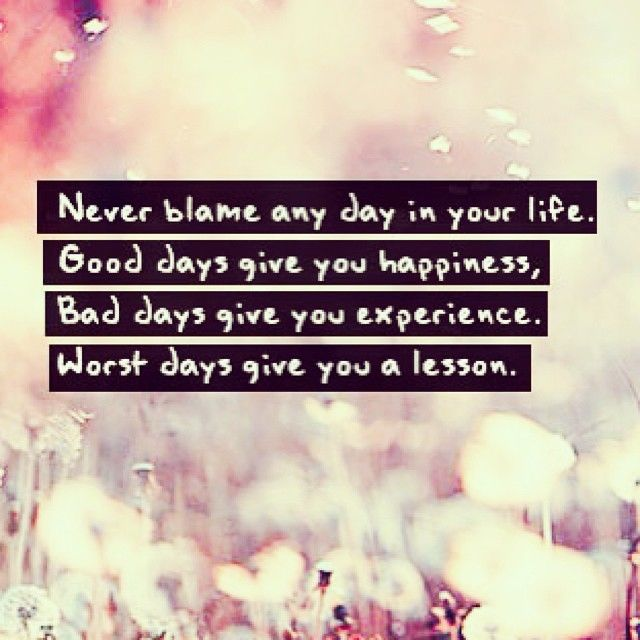 Day To Day Life Quotes: Worst Days Give You A Lesson Pictures, Photos, And Images