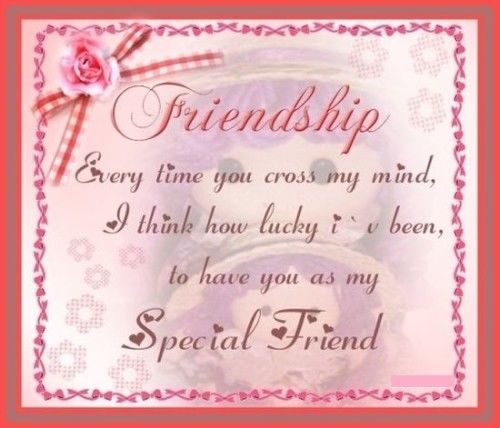 Most Beautiful Friendship Images: My Special Friend Pictures, Photos, And Images For