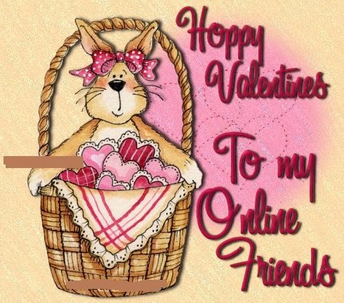 Happy Valentines Day To My Online Friends Pictures, Photos, and ...