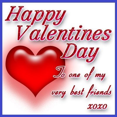 Happy Valentines Day To My Friend Pictures, Photos, and Images for ...