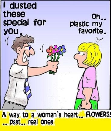 A Way To A Womans Heart Is Flowers Pictures Photos And