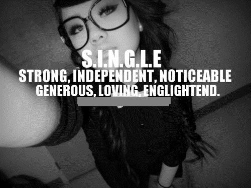 Sad Tumblr Quotes About Love: SINGLE Pictures, Photos, And Images For Facebook, Tumblr