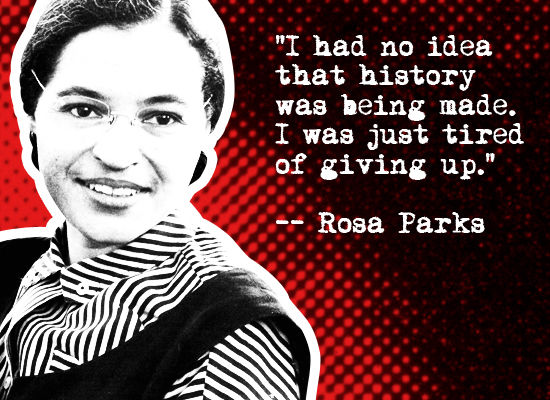 Rosa Parks Quote Pictures Photos And Images For Facebook Tumblr