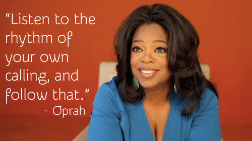 oprah advice on dating