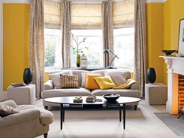 Saturated Yellow Living Room Pictures Photos And Images For Facebook Tumblr Pinterest And