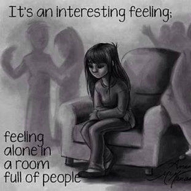 Feeling alone in a room full of peopleFeeling Alone In A Relationship Tumblr