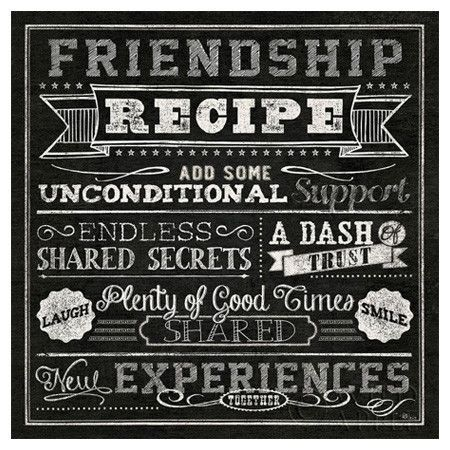 Friendship Recipe Pictures, Photos, and Images for Facebook ...