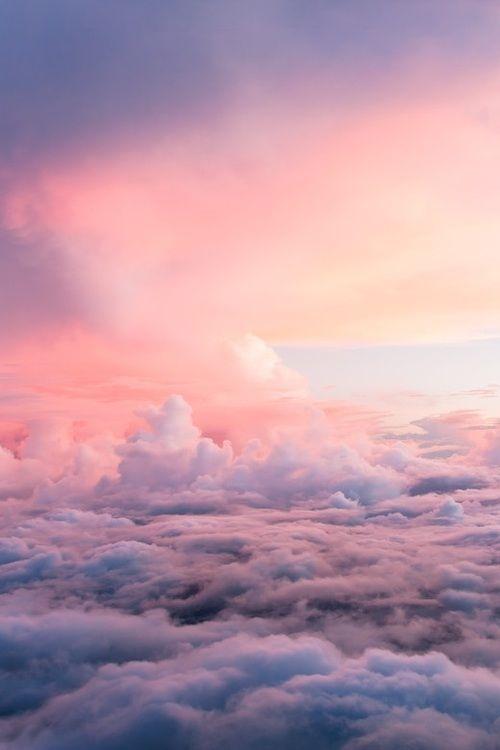 Pastel Pink Clouds Pic...